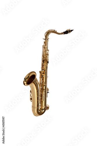 Leinwandbild Motiv saxophone isolated