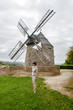Windmill in the Ancient City Lautrec