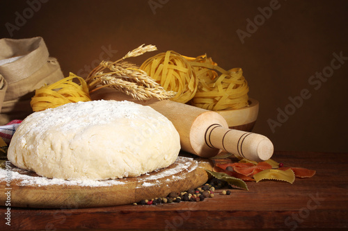 ingredients for homemade pasta