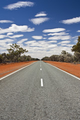 road in outback Australia