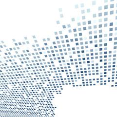 Modern tile background template in dark blue