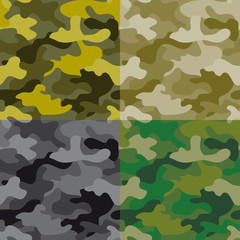 Seamless militery pattern