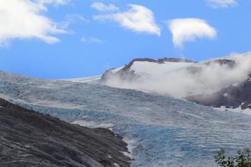 Engenbreen glacier
