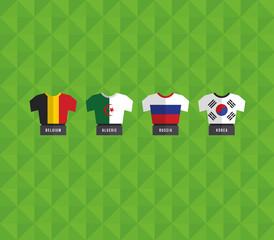 GIE0521 축구 국기 유니폼