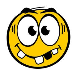 Smiley Zahnlücke