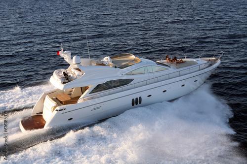 Foto op Aluminium Jacht motor yacht, boat