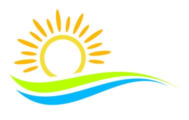 Landschaft - Sonne - Logo - 1