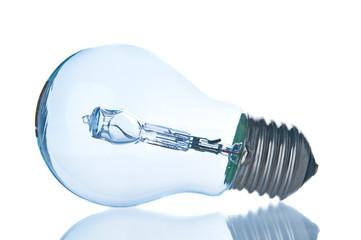 Bulb lamp closeup