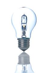 Bulb lamp on white background