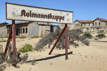 Kolmannskuppe the diamond ghost town