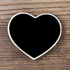 Kreidetafel - Herzform