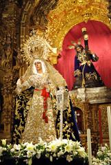 Virgen Esperanza de Triana, Sevilla, España