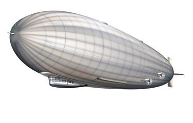 Luftschiff, Zeppelin freigestellt