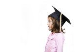 Girl in graduation cap