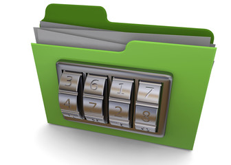 Folder And Code - 3D