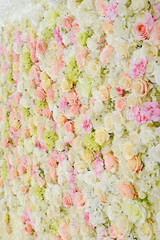 bouquet, floral background