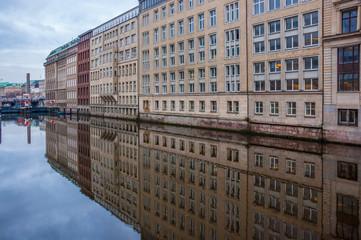 Hamburg am Alsterfleet