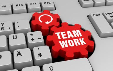 Teamwork - Tastatur