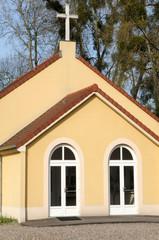 France, the presbyterian church of Meulan in les Yvelines