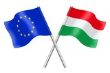 Flags: Europe and Hungary