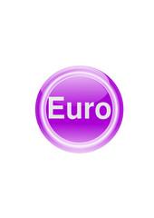"""Button """"Euro"""""""