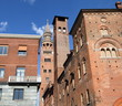 medieval skyscrapers in historic center of Cremona, Italy