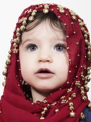 Niña árabe