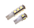 Two lamp for auto with 5 and 13 SMD LEDs