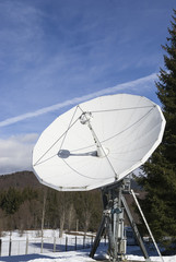 Antenna for space transmissions