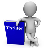 Thriller Book And Character Shows Books About Action Adventure M