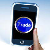 Trade On Phone Shows Online Buying And Selling