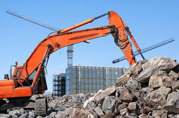 Diggerat building site
