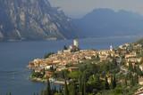 Fototapety Ansicht von Malcesine am Gardasee