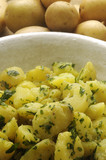 Papas hervidas Patate lesse Boiled potatoes بطاطس مسلوقة