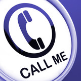 Call Me Button Shows Talk or Chat