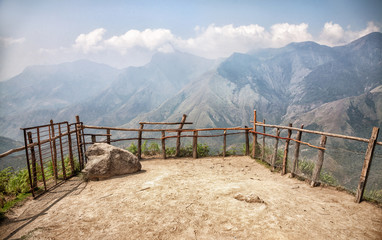 Mountain view in India