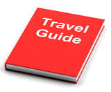 Travel Guide Book Shows Information About Travels