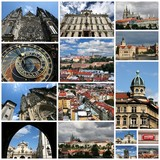Prague, Czech Republic - photo collage