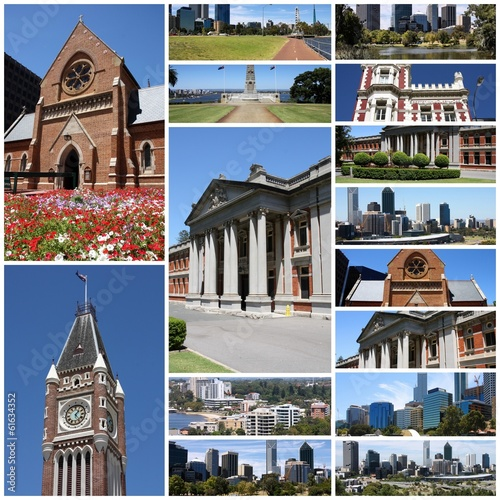 Perth, Australia - photo collage