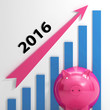 Graph 2016 Means Forecasting Business Financial Growth