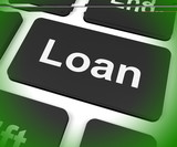 Loan Key Means Lending Or Providing Advance