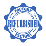 Factory refurbished stamp