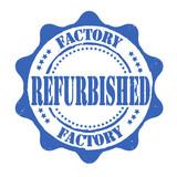 Factory refurbished stamp poster