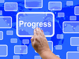 Progress Touch Screen Means Maturity Growth  And Improvement
