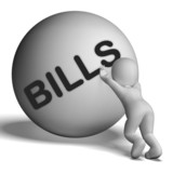 Bills Character Shows Invoice Or Accounts Payable