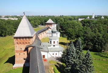 Novgorod fortress wall