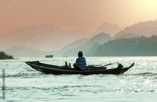 Boat in Laos © Galyna Andrushko