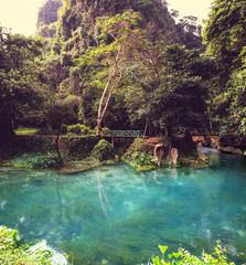 Vang Vieng landscapes