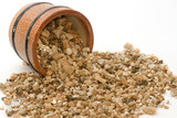 Vermiculite used in potting plants