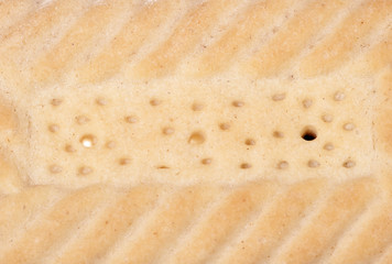 Shortbread biscuit abstract
